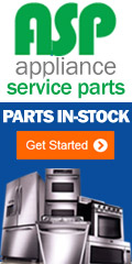 Appliance Parts In Stock! Wholesale pricing. Do it yourself and save.