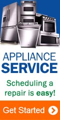 In-Home Appliance Repair | Schedule service today; we make it easy!